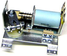 A typical full flipper assembly