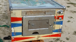 coin door central park pinball for sale