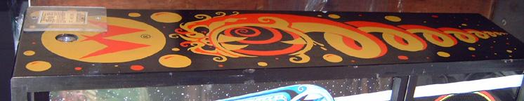 cyclone pinball right side backbox art