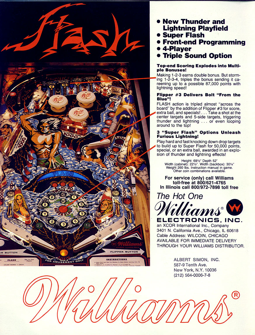 Flash Pinball Game For Sale In Austin Texas