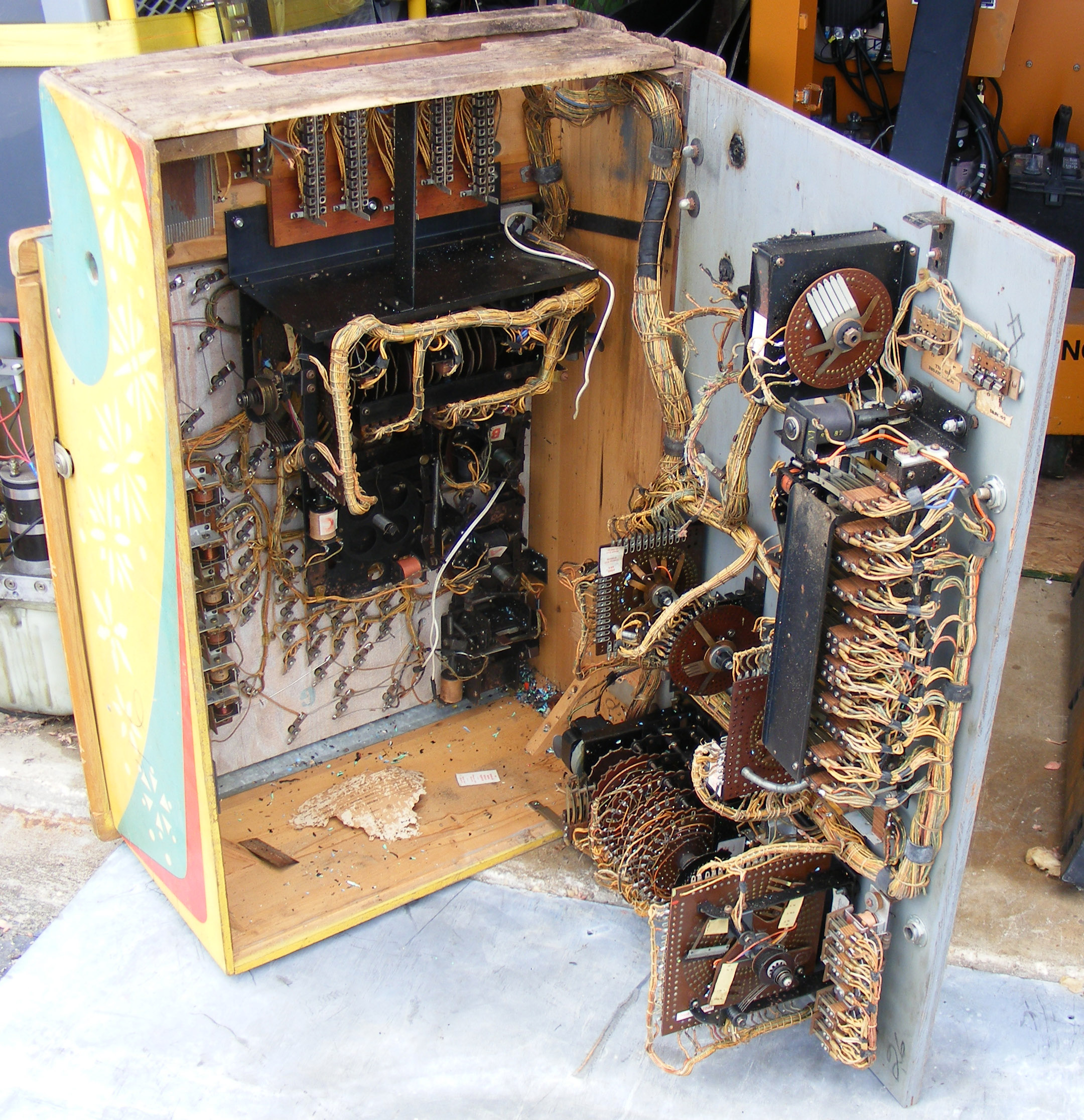 pinball machine parts