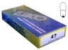 Number 47 bulb box of 10 for sale