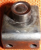 Typical solenoid coil stop