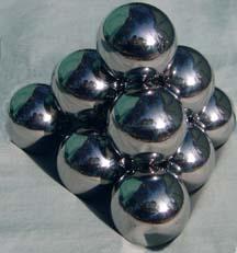 LASER brand highly polished pinball playfield game ball