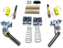 Typical Flipper Rebuild KIT parts