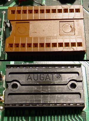 Bad ROM Chip Sockets