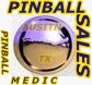 Pinball game sales for sell austin texas