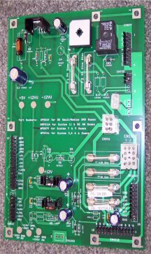 Williams pinball system 7 & 9 power supply board