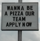 Be a pizza